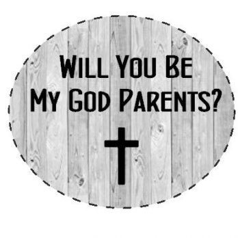 Will You Be My Godparent Items