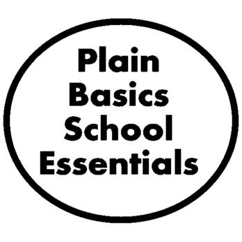 Plain Essentials