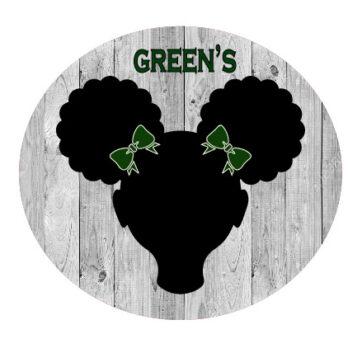 Green School Bows