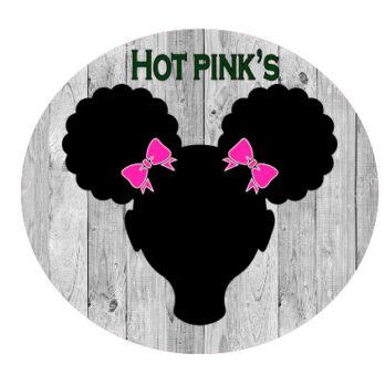 Hot Pink Bows
