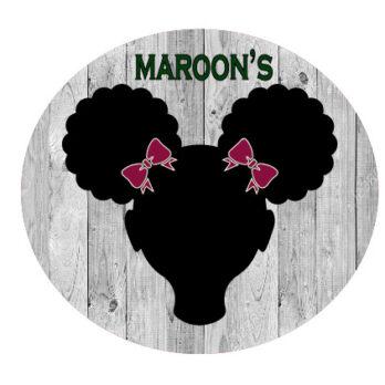 Maroon School Bows