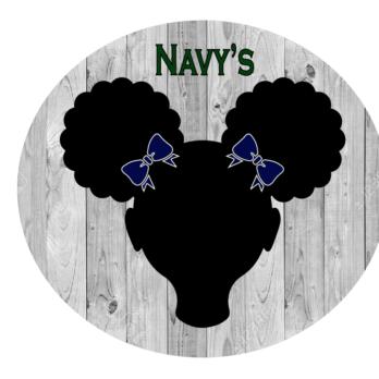 Navy Bows