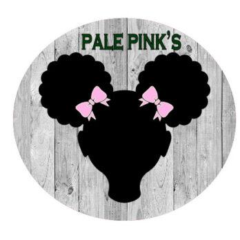 Pale pink bows