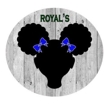Royal Blue School Bows