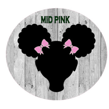 Mid Pink Bows